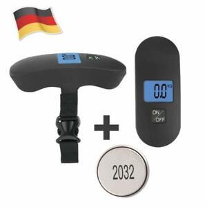 Digitale Kofferwaage Gepäckwaage Reisewaage Handwaage Koffer Waage Kg Lbs Reise Haushalt Reisen
