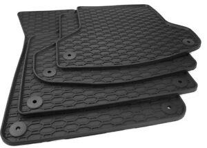 Gummimatten passend für Audi A3 S3 RS3 8P + Sportback Allwetter Fussmatten Gummi
