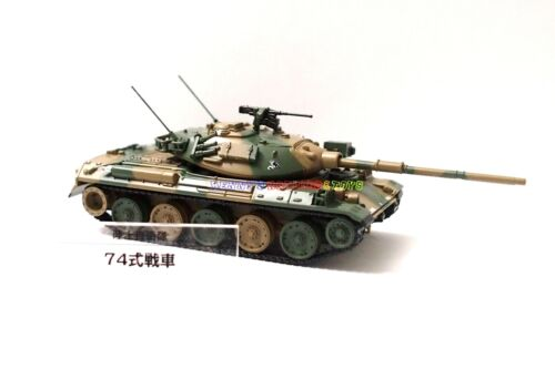 Nouveau 1//72 diecast Char Japonais Type 74 g Japon moderne militaire modèle toy soldiers