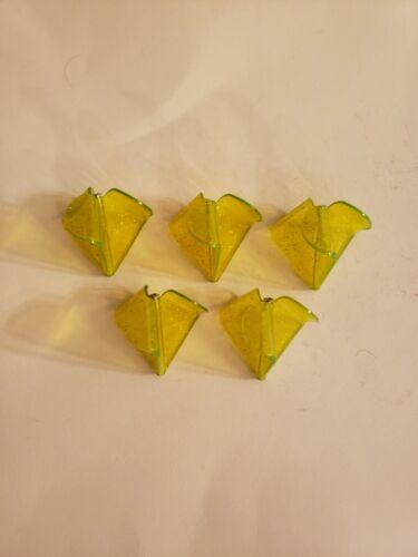 5 Plastic Buzz Bait 3 Blade CHARTREUSE LARGE Size for 3//8oz