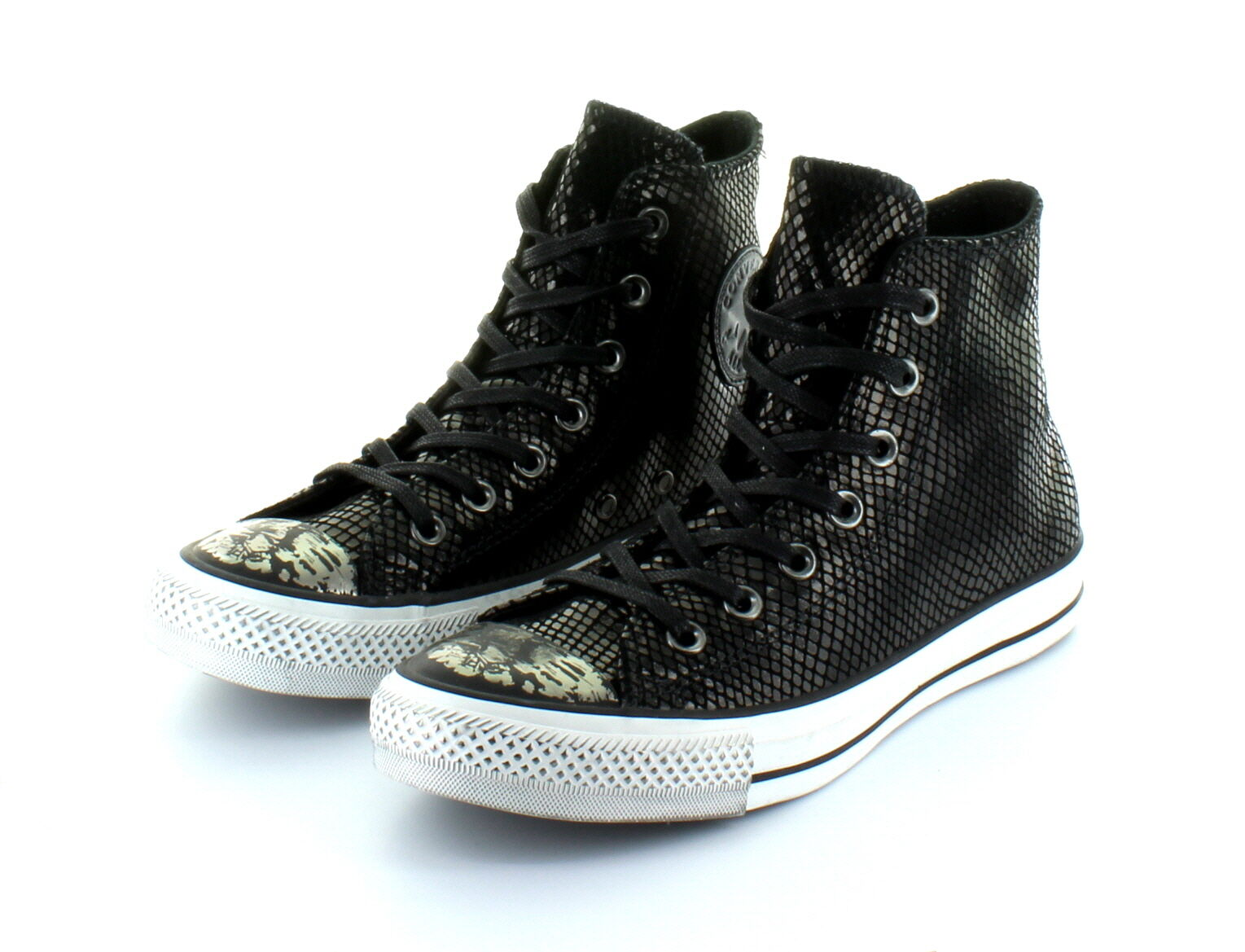 Converse Chuck Taylor AS Limited Edition Hi Black Stone Leather Gr. 37,5   38,5