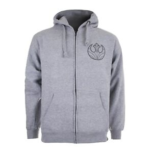 Star-Wars-Official-Clothing-Rebel-Ships-Icon-Mens-Hoodie-Grey
