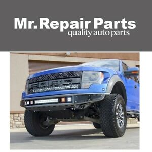 N Fab For 10 14 Ford F150 Raptor M Rds Front Bumper Gloss Black F101mrds Ebay