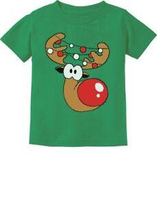 Cute-Reindeer-Lights-Girl-Boy-Christmas-Toddler-Infant-Kids-T-Shirt-Xmas-Gift