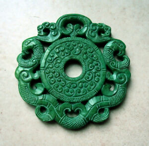 China-Antique-Jade-Phoenix-Imperiale-Hanger-Yuan-Dynasty-Auction-invoice