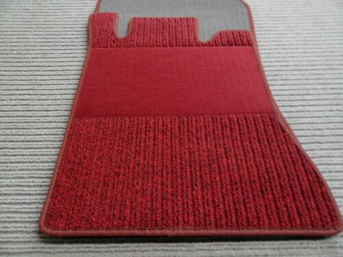 Maß $$$ Rips Fußmatten passend für Mercedes Benz W201 190 ROT NEU $$$