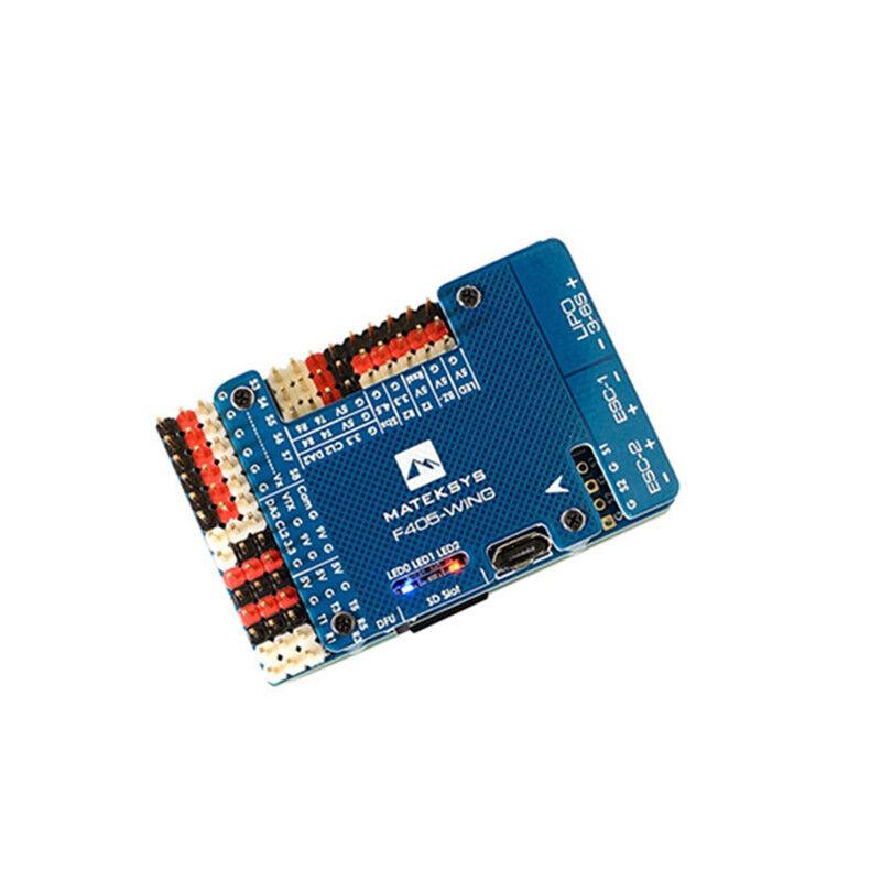 Matek Systems  F405-WING (nuovo) STM32F405 volo Controller Built-in OSD for RC  trova il tuo preferito qui
