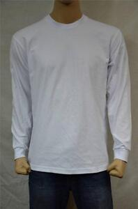 lange S shirt Pro T gewicht Club Proclub wit 3 3st 7xl met mouwenzwaar Effen EI9DH2