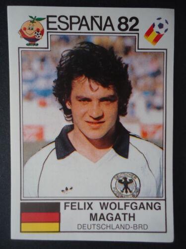 Panini 153 Felix Wolfgang Magath Deutschland WM 82 World Cup Story