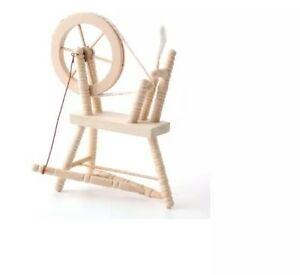 Barewood Maison De Poupées Meubles Bare Essentials 1:12 Bef064 Spinning Wheel-afficher Le Titre D'origine
