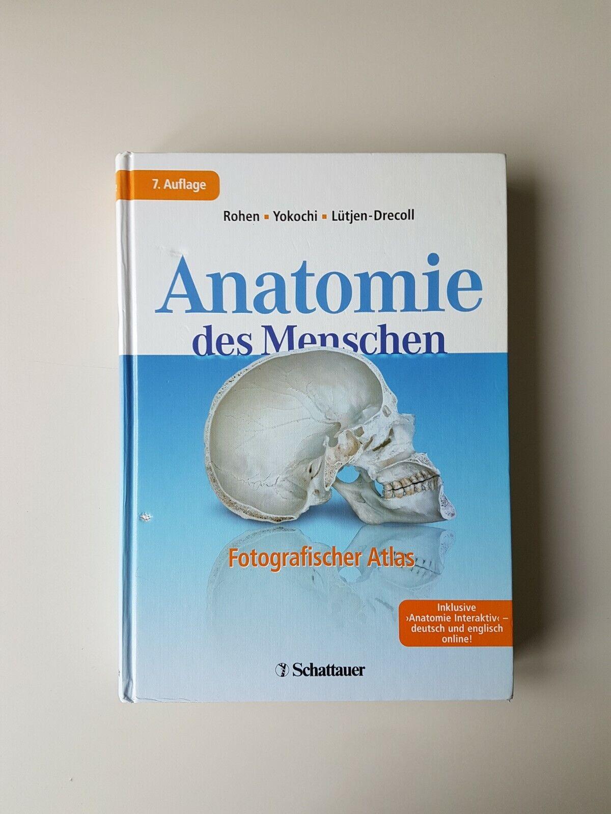 Atlas der Anatomie. Fotografischer Atlas (2011, Gebunden) - Johannes W Rohen