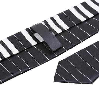 Black /& White Piano Keyboard Keys Necktie Tie New Fashion DD