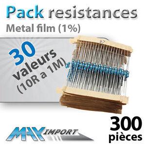 Pack-resistances-1-4-Watt-300-ou-600pcs-30-valeurs-Compatible-Arduino