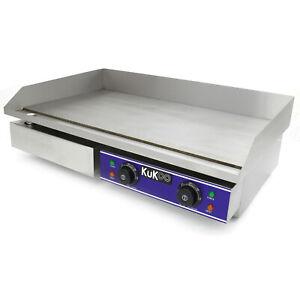 Piastra Elettrica Commerciale Griglia Professionale Bistecchiera Da Bar 70cm Ebay