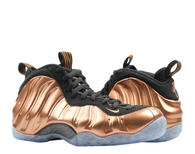 promo code e0bca ef2af Nike Air Foamposite One Shoes Black Metallic Copper 2017 314996-007 Mens 7