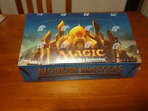 MTG-Magic-Gathering-MODERN-MASTERS-2013-FACTORY-SEALED-Booster-Box-24-Packs-2