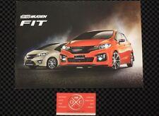 JDM Honda Fit Mugen Brochure GK5 Rare Access Catalog 2014 15 16 17 GK RS Sport