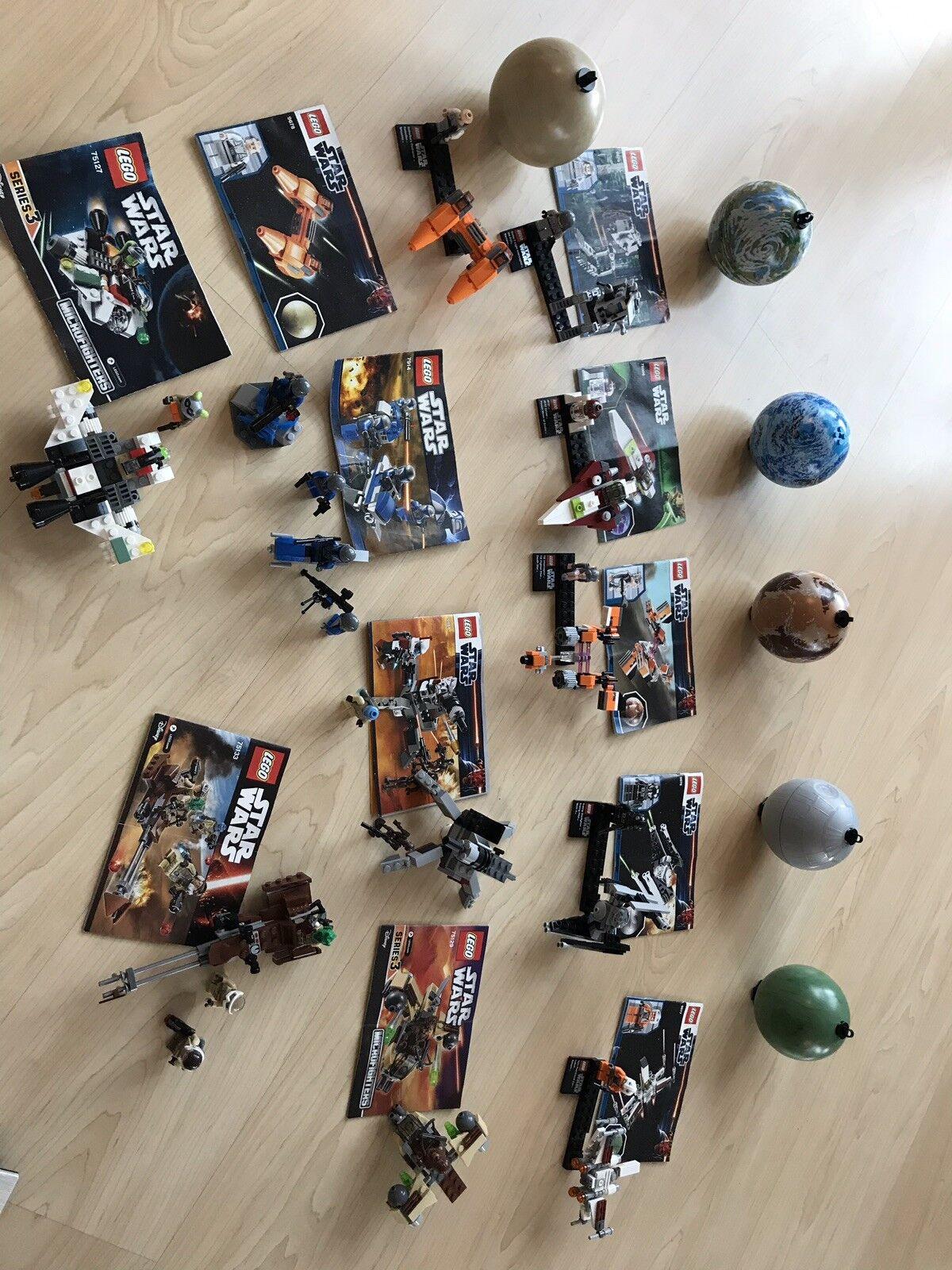 Lego, Star Wars, 75133, 75129, 75127, 9488, 7914, 9676, 9678, 9675, 9677, 75006