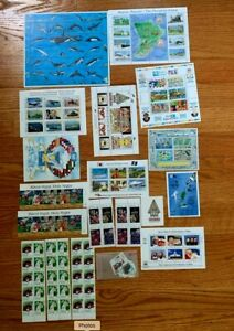 Palau Stamps 1991 + Supplement PA-8 White ACE CV: $96