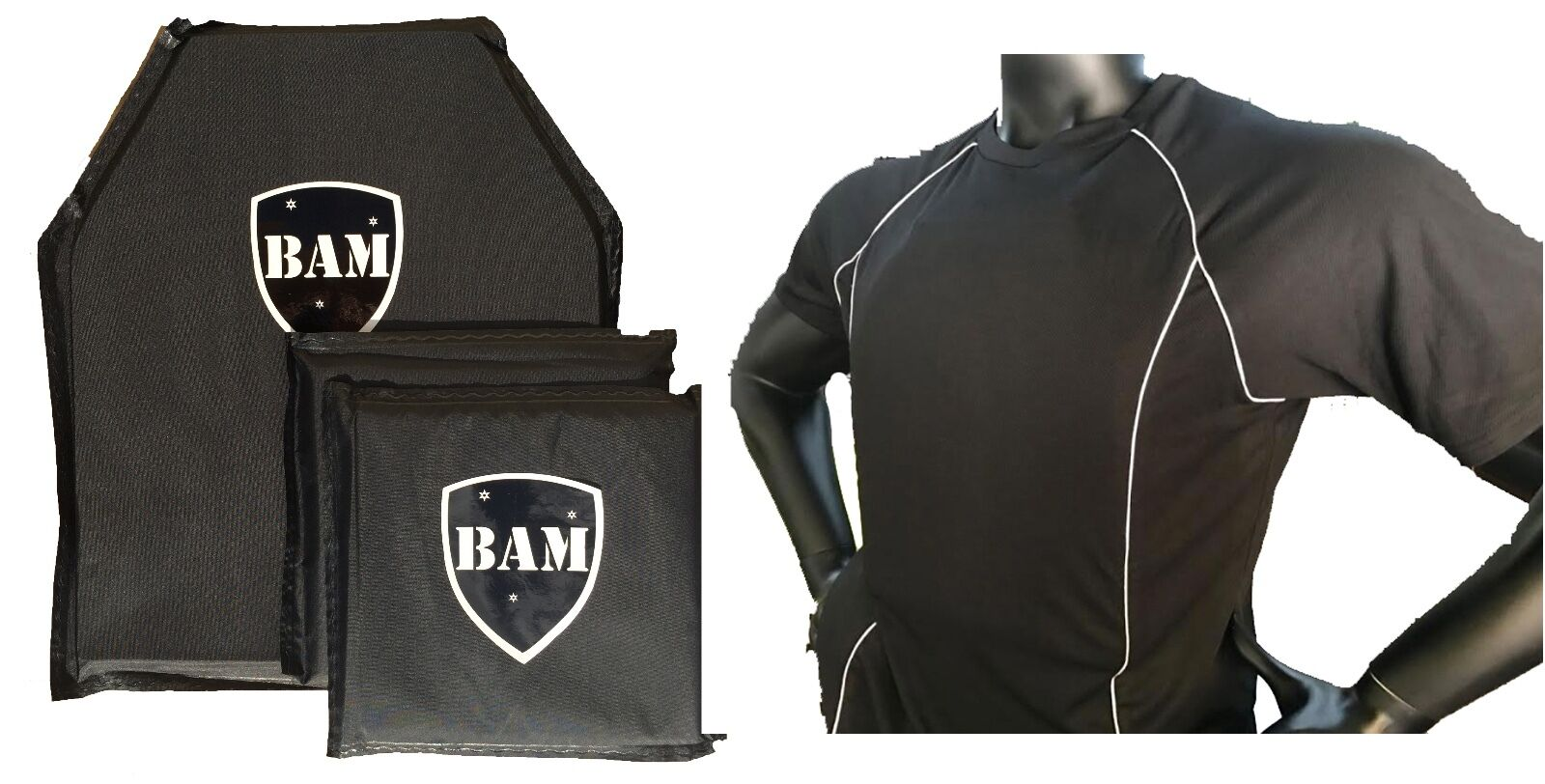 Body Armor   Bullet Proof Shirt   Level IIIA 3A   Low Profile    Mfg MAY 2018