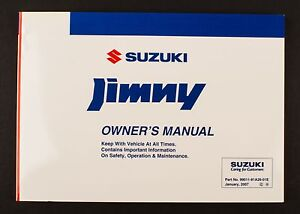 genuine suzuki jimny sn htop owners manual 99011 81a26 01e ebay rh ebay co uk suzuki jimny 2010 owners manual suzuki jimny owner's manual