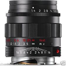 100% New Leica SUMMILUX-M 50mm F1.4 f/1.4 ASPH. 6-Bit Black Chrome M 240 11688