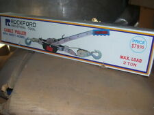 Brand New Rockford 2 Ton Cable Winch Puller 4000 Pound Come Along Cable Puller