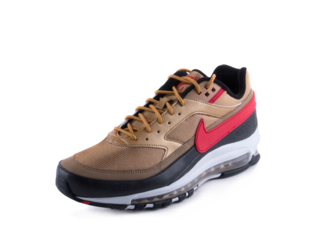 b529635da2ea3 2018 Nike Air Max 97 BW Sz 8 Metallic Gold University Red White Black  Ao2406-700