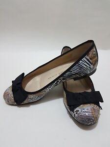 Dettagli su Peter Kaiser Ballerina Scarpe slip on Pompe Scarpe Basse Tg UK 4 capiente!!! mostra il titolo originale