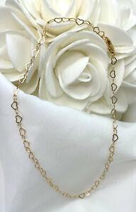Gold-Filled-Open-Heart-Bracelet-or-Ankle-Bracelet-3013-Plus-Sizes-Available