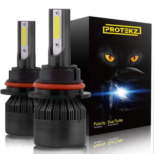 NEW LED Headlight Kit 2x 9005 H10 9145 6000K White 100W CREE Bulbs Fog Light