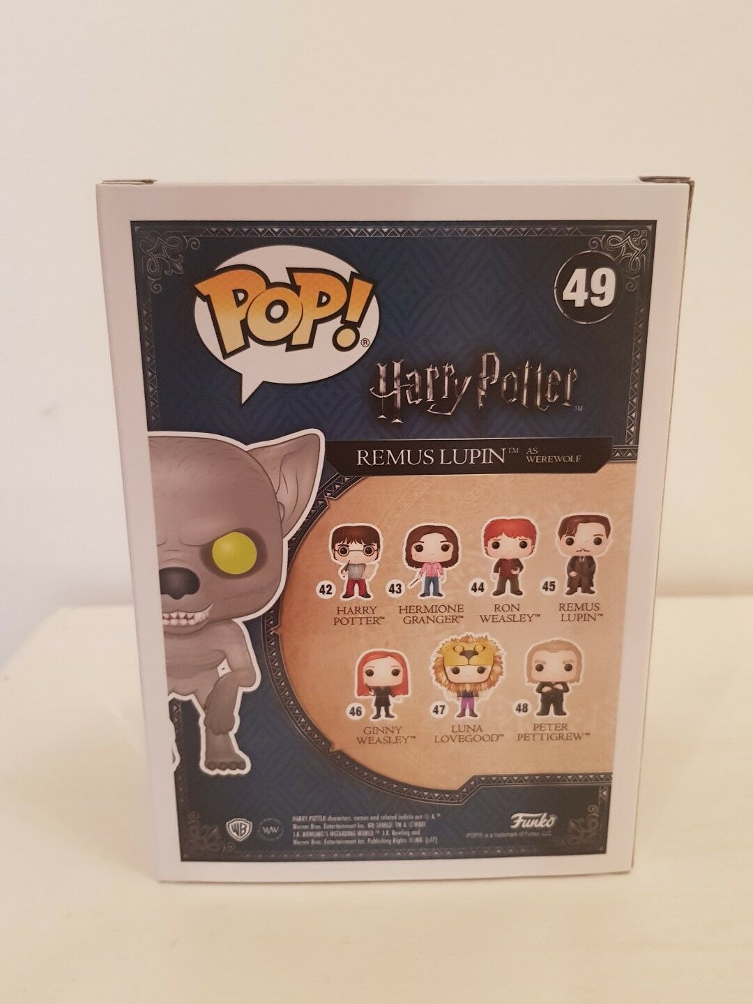 Pop Harry potter - - - Remus Lupin as werewolf Hot Topic Exclusive rare 8b1112