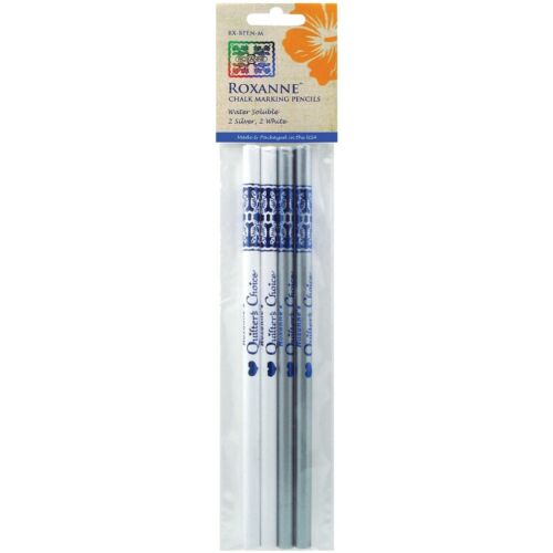 Pack of 4RX-BPEN-M Colonial Water Soluble Chalk Marking Pencils