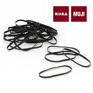MUJI MoMA  HAIR RUBBER BAND Elastic Hair Styling Accessories 25pcs ... 68bc2237dbc