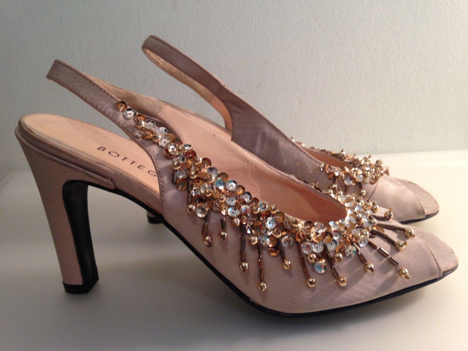 Bottega VENETA | Auténtico Mujeres Sandalias Zapatos de verano de ESLINGA vuelta Mula-Italia