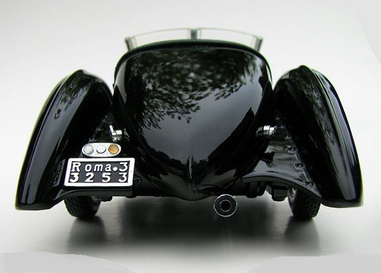 Un coche de concepto de Ford 1 Vintage Modelo 24 Antiguo T 18 carrera 12 Metal 43