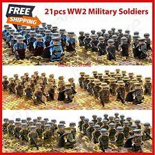 Free Shipping  WW2 German Soldiers Custom Mini figure 11pcs Set