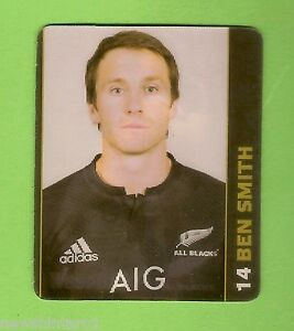 #CC5. BEN SMITH WEETBIX NEW ZEALAND JUNIOR RUGBY UNION CAMP HOLOGRAM