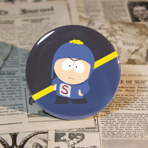 Coon and Friends Button The Fractured But Whole 58mm Tin Badge For South Park