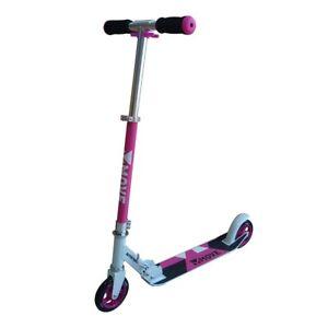 Monopattino Rosa Pink Pieghevole Ruote 125 mm Manubrio Regolabile Altezza