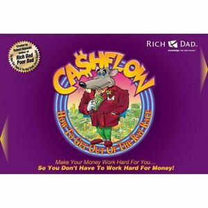 Rich Dad Poor Dad Cashflow Get Out of the Rat Race Board Game