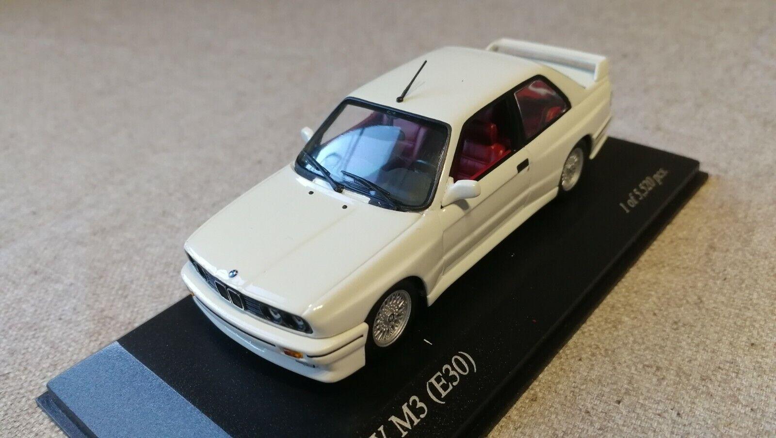 1:43 maxichamps bmw m3 e30 by Raceface-modelcars