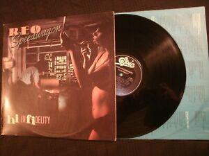 Reo-Speedwagon-Hi-Fidelity-1980-Vinyl-12-039-039-Lp-VG-Prog-Rock-AOR