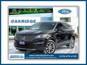 2018 Lincoln MKC Only 17 k ! Leather, Navigation AWD