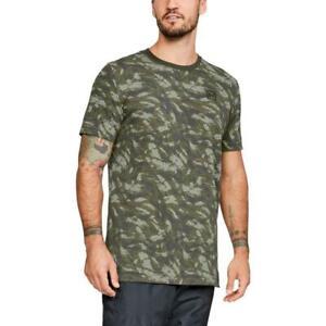 Under-Armour-AOP-Sportstyle-Camo-Short-Sleeve-T-shirt-Men-039-s-Large-Tee