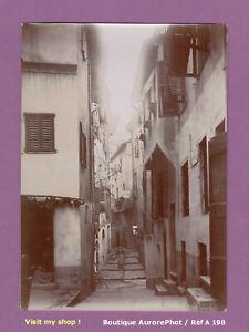 PHOTO-1891-COTE-D-039-AZUR-VIEILLE-RUE-D-039-UNE-VILLE-A-IDENTIFIER-RUELLE-A198