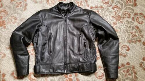Doublure Mob Blouson taille cuir zippée noir intérieure en moto 16 ventilé nSSRqYO