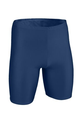 Herren Radler Marine Radlerhose Shorts stretch shiny glänzend kurze Sporthose
