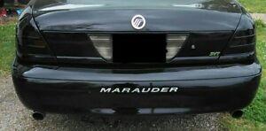 BDTrims | Chrome Bumper Letters for Mercury Marauder 2000 2004 Plastic Inserts