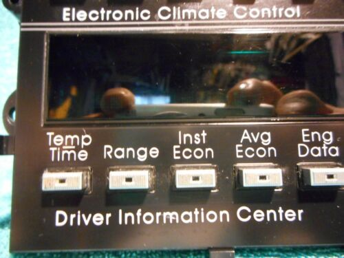 SHIPS SAME DAY GM 16125346 Climate Control Module /& Driver Information Center